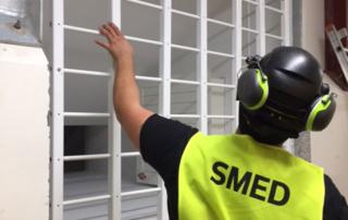 FerraPod installerar ventilationsgaller RC4 – säkerhetsklassat skalskydd
